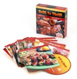 Grill to Thrill (MusicCooks: Recipe Cards/Music CD), Recipes for Easy Grilling, Rock & Soul Music for Cookouts (Sharon O'Connor's MusicCooks)