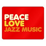 Idakoos - PEACE LOVE Jazz Music - Hobbies - Plastic Acrylic